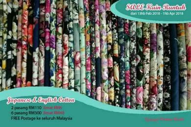 Kain cotton sale