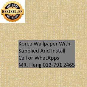 PVC Vinyl Wall paper with Expert Install jhk5