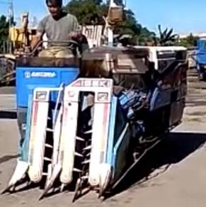 Japan Imported Padi Combin Harvester