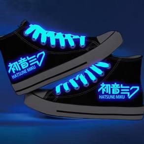 Hatsune Miku glow in light Shoes