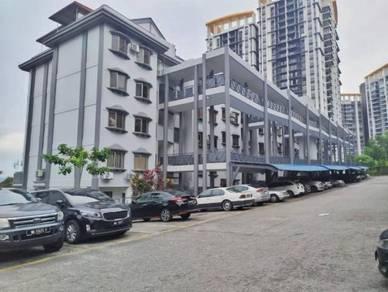 Wow!!!renovated corner duplex penthouse sri ledang condo wangsa maju