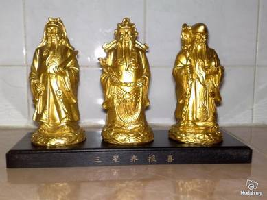 Patung Chinese Oriental figurines with stand