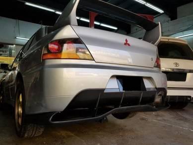 Mitsubishi Evo 9 Voltex carbon FRP rear diffuser
