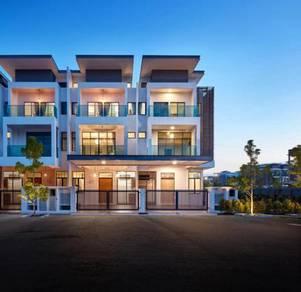 [f.furnished] luxury 3 sty house bukit jalil west, 15 min to ioi mall