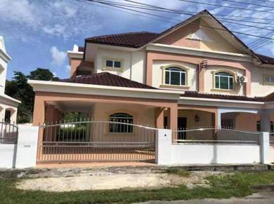 Double Storey semi detached, opposite Luak esplanade Miri