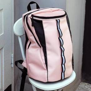 Pink water resistant backpack bag RBHB050