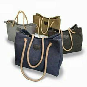 Canvas bag set mummy handbag