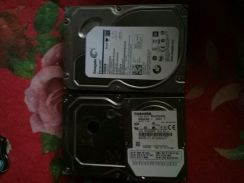 1TB HDD x2 + 60GB laptop HDD