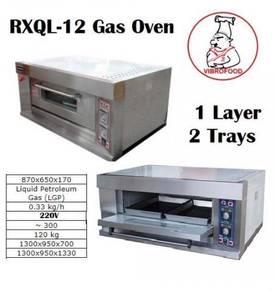 Vibrofood Gas Oven RHQL-12 1-Layer 2Dish