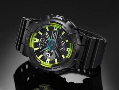 Watch- Casio G SHOCK LIME GA110LY -ORIGINAL