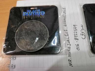 MARVEL AVENGERS BLACK PANTHER Coin Limited Edition