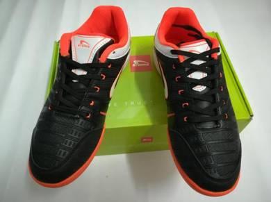 Kasut Futsal KRONOS size 6uk Black Color