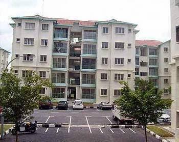 Rosewood lilywood apartment bandar tasik puteri rawang btp