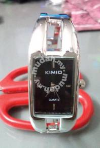 ABWSS-KIMIO Silver Luxury Quartz Watch - Stainless