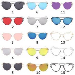 Women Sunglasses Sunscreen Anti-UV Color Film