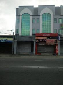 3 sty new shoplot jalan long yunus, kota bharu
