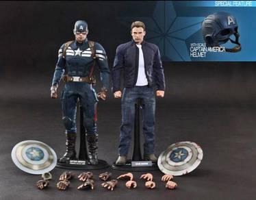 Hot Toys MMS243 Captain America & Steve Rogers