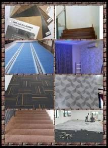 Carpet Pejabat,Promosi seminggu,siap pasang hanya