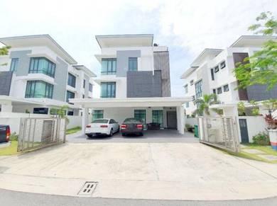 [ must buy! ] 3 storey bungalow house, lambaian residence, bangi ukm