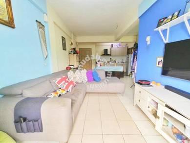 [BOOKING 1K] FULL LOAN Apartment Saujana Taman Pinggiran Batu Caves Go