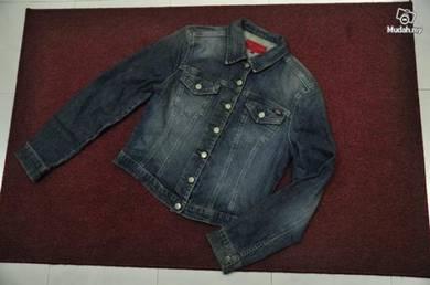 Fcuk jaket jeans gurl size l