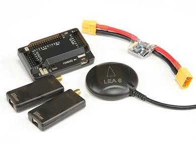 HKPilot Mega 2.7 Master Set With OSD, LEA-6H GPS,
