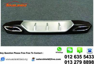Honda Civic FC Rear Bumper garnish Diffuser