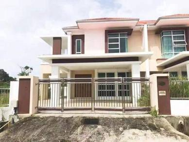 Double storey semi detached , Jalan Sze chuan 1 Airport miri