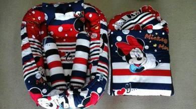 Tilam baby kekabu + sleeping bag kekabu