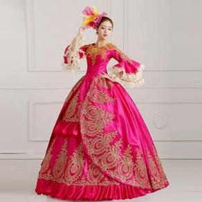 Pink Ball Gown Dress Wedding Bridal RBMWD0134