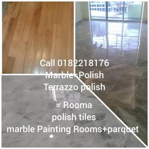 Polish TILEA parquet= marble polish(painting)