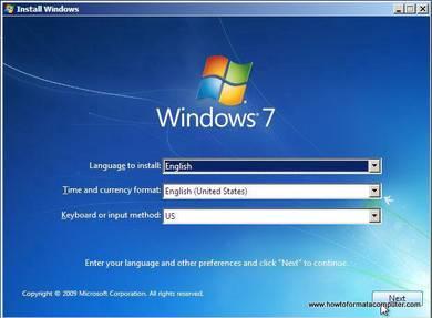 Format Komputer dan Laptop