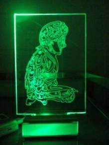 Handmade art lightlampu hiasan