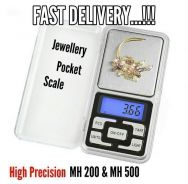 HS Portable Jewellery Digital Pocket Scale (19A)