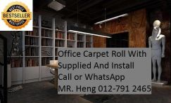 Natural OfficeCarpet Rollwith install 44TL