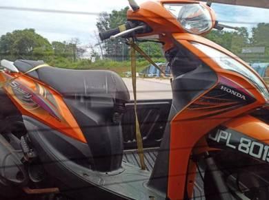 Skuter Honda Spacy Power Coolant 110cc 1owner