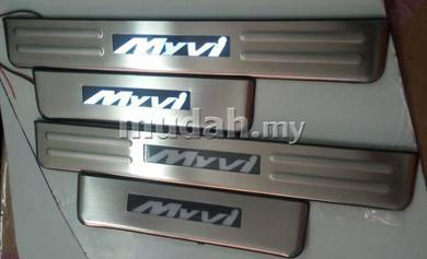 Myvi led side door step side sill plate led light