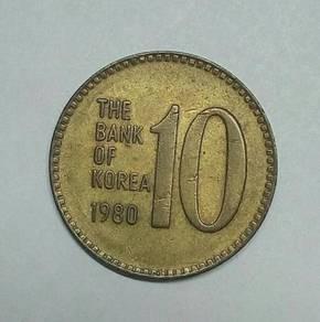 10 WoN SOUTH KOREA 1980 - WC108
