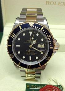 Rolex Submariner Date 16613 Black Dial