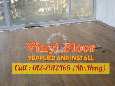Modern Design PVC Vinyl Floor - With Install FG83