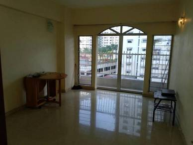 Ayer itam desa delima apartment 3-rooms partly furnished cover car par