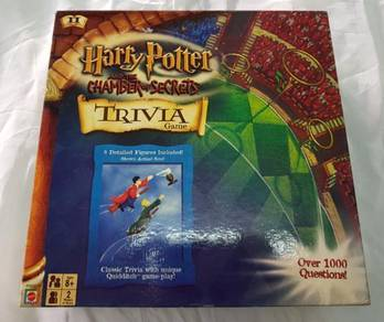 Harry porter chamber of secrets trivia board game
