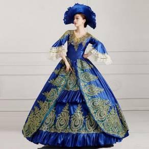 Blue Gown Dress Wedding Bridal RBMWD0133