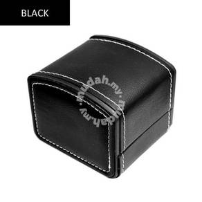 PU Leather Watch Box Storage Case