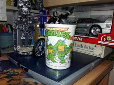TMNT NINJA TURTLES Melamine Mug Cup Vintage 1990