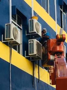 Perkhidmatan aircond & kerja elektrikal