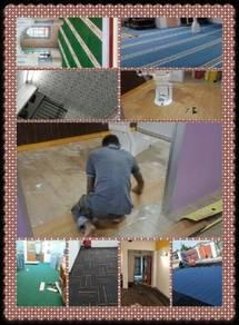 Carpet Ofis dan Vinyl floor,Promosi siap sekali