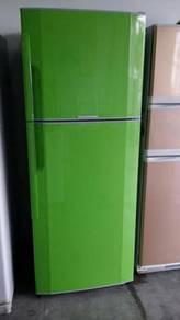 Fridge Green Toshiba Peti Sejuk Ais Refrigerator