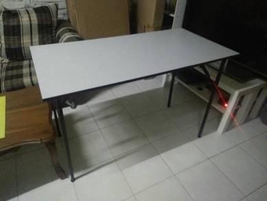 Fordable table meja kelas tuisyen 4x2 n 5x2 feet