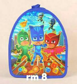 Kids backpack pjmask & minion